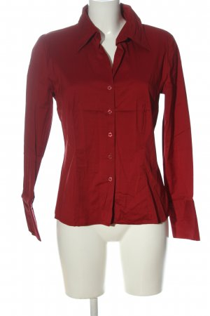 s.Oliver Langarmhemd rot Business-Look
