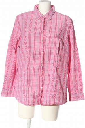 s.Oliver Langarmhemd pink Allover-Druck Elegant