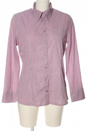 s.Oliver Langarmhemd pink-weiß Allover-Druck Casual-Look