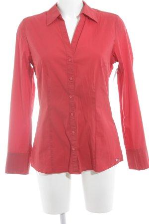 s.Oliver Langarmhemd rot klassischer Stil