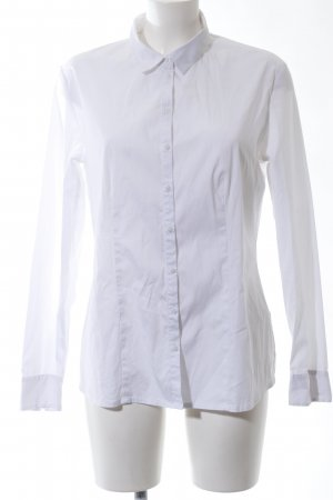 s.Oliver Long Sleeve Shirt white business style