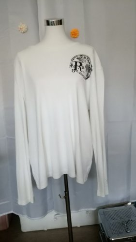 Anastacia by s.Oliver Longsleeve natural white cotton