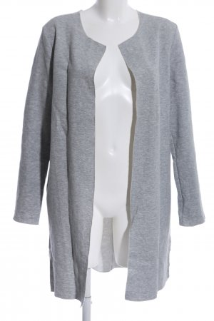 s.Oliver Long Jacket light grey flecked casual look