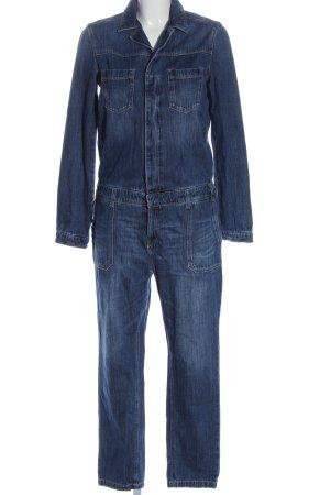 s.Oliver Langer Jumpsuit blau Casual-Look
