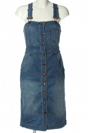 s.Oliver Overgooier overall rok blauw casual uitstraling