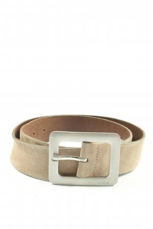 s.Oliver Leather Belt cream-brown casual look