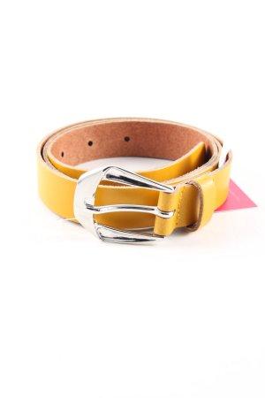 s.Oliver Cintura di pelle arancione chiaro stile casual