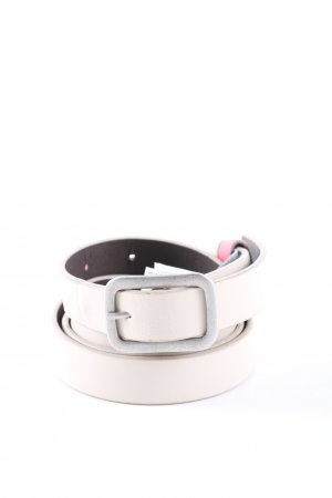 s.Oliver Faux Leather Belt white-silver-colored casual look
