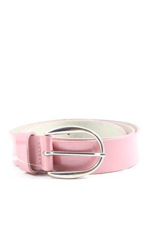 s.Oliver Lederimitatgürtel pink Casual-Look