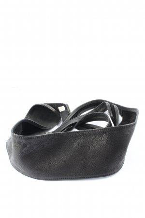 s.Oliver Faux Leather Belt black casual look