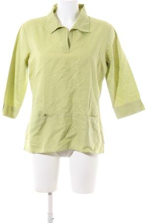 s.Oliver Leinenbluse grün Casual-Look