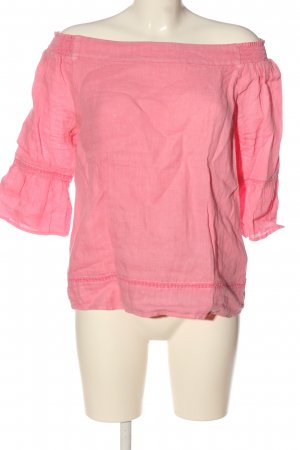 s.Oliver Leinenbluse pink Casual-Look