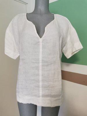s. Oliver (QS designed) Linen Blouse white linen