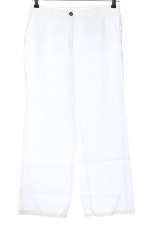 s.Oliver Leinenhose weiß Casual-Look