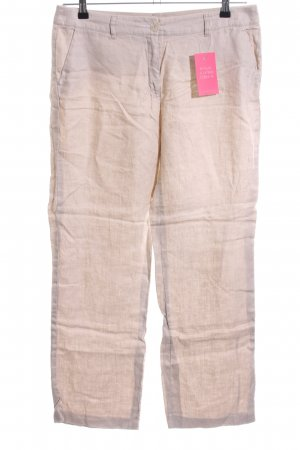 s.Oliver Leinenhose creme Casual-Look