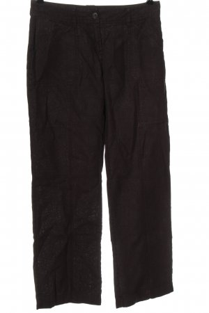 s.Oliver Leinenhose braun Casual-Look
