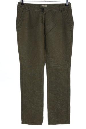 s.Oliver Linnen broek khaki casual uitstraling