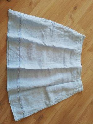 s. Oliver (QS designed) Falda de lino azul claro