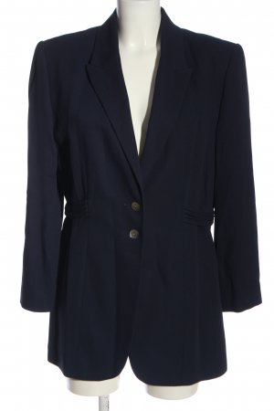 s.Oliver Long-Blazer blau Business-Look