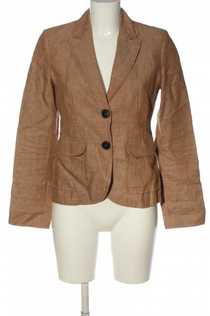 s.Oliver Long-Blazer braun Casual-Look