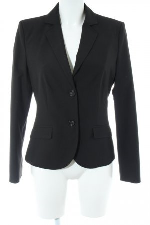 s.Oliver Long-Blazer schwarz Business-Look