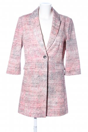 s.Oliver Long-Blazer wollweiß-pink meliert Business-Look