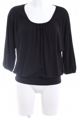 s.Oliver Long Blouse black casual look