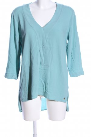 s.Oliver Long-Bluse blau Casual-Look