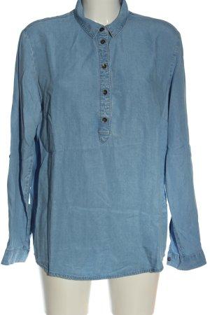 s.Oliver Długa bluzka niebieski W stylu casual