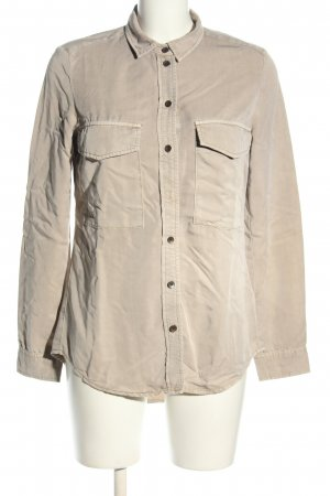 s.Oliver Long-Bluse hellgrau Casual-Look