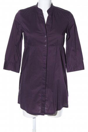 s.Oliver Long-Bluse lila Casual-Look