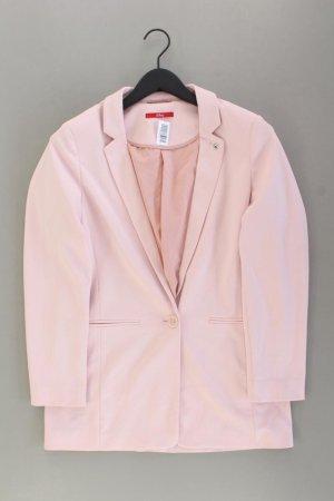s.Oliver Lange blazer stoffig roze-rosé-lichtroze-roze Polyester