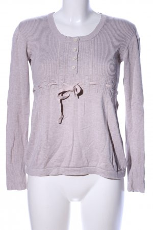 s.Oliver Longpullover braun meliert Casual-Look