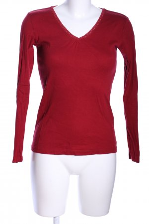 s.Oliver Longshirt rot Casual-Look