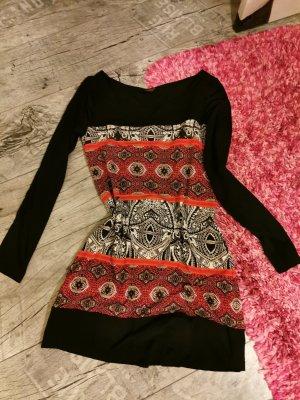 S. OLIVER ♥ Longshirt, Kleid - tolles Design! 2 Lagen, blickdicht - Gr XS 34