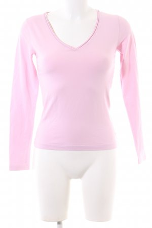 s.Oliver Longsleeve pink Business-Look