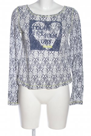 s.Oliver Longsleeve abstraktes Muster Casual-Look