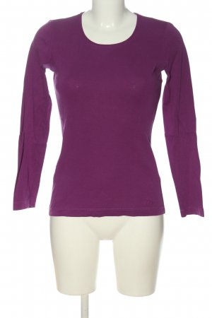 s.Oliver Longsleeve lila Casual-Look