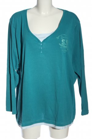s.Oliver Longsleeve blue casual look