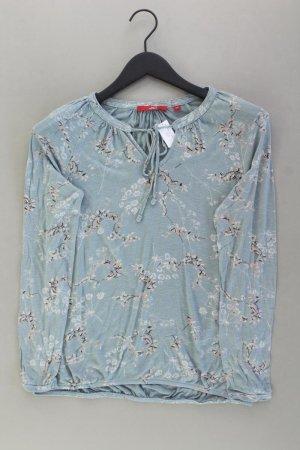 s.Oliver Longsleeve-Shirt Größe 36 Langarm blau