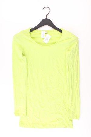 s.Oliver Longsleeve-Shirt Größe 36 Langarm grün aus Baumwolle
