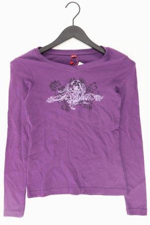 s.Oliver Longsleeve lilac-mauve-purple-dark violet cotton