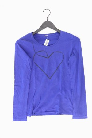 s.Oliver Longsleeve-Shirt Größe 38 Langarm blau