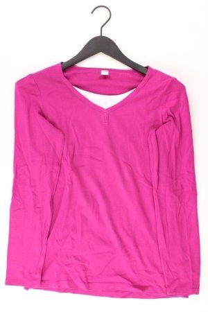 s.Oliver Longsleeve-Shirt Größe 40 Langarm lila