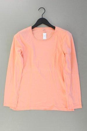 s.Oliver Longsleeve-Shirt Größe 44 Langarm orange aus Baumwolle