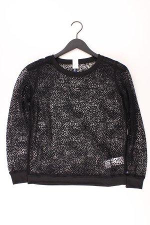s.Oliver Longsleeve-Shirt Größe S Langarm schwarz aus Polyester