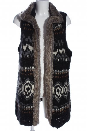 s.Oliver Gilet long tricoté motif graphique style décontracté