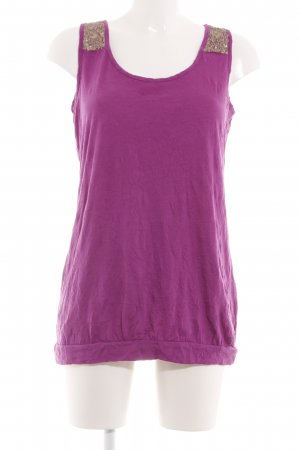 s.Oliver Longtop pink-goldfarben Casual-Look