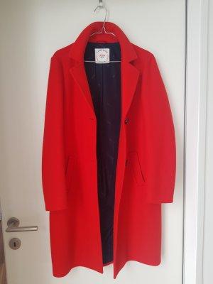 s.Oliver Abrigo de lana rojo