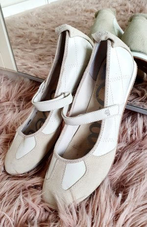 s.Oliver Mary Jane Ballerinas natural white-oatmeal